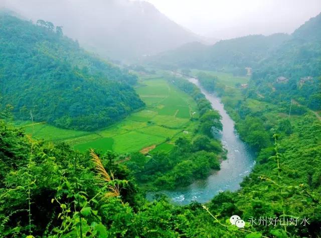 图游永州:雨后黄溪河