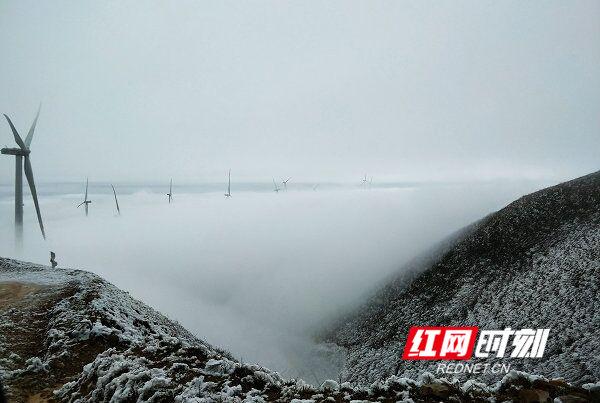 图游永州:江华瑶都 雪景美成仙