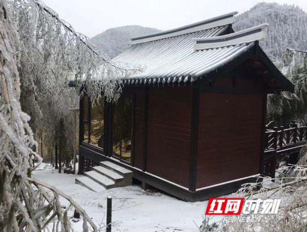 图游永州:云冰山邀您共赏云海冰挂