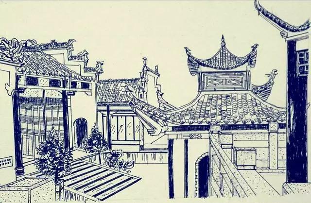 图游永州:钢笔下的双牌古建筑群