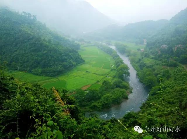 驴友永州:溯溪永州大黄江源峡谷
