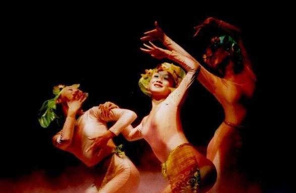 《蝴蝶歌》03年舞蹈诗《盘王之女》片段